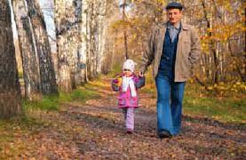 Пешие прогулки развивают головной мозг
