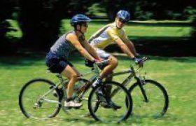 Езда на велосипеде с пользой для здоровья