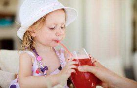 Полезные напитки для малышей