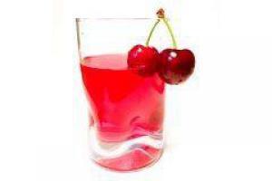 Вишневый сок помогает наладить сон