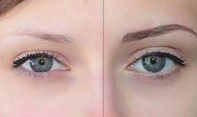 Перманентный макияж: татуаж бровей