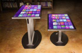Свойства интерактивных столов