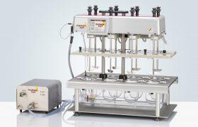 Быстрый процесс перемалывания на трехвалковой мельнице Pharma Test