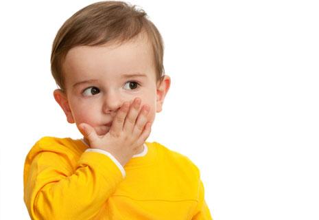 Заикающийся ребёнок