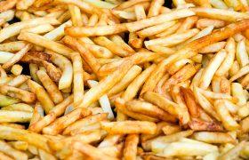 Жареная картошка поднимает настроение