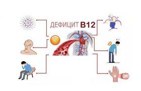 Распечатать К чему приводит недостаток витамина В12 в организме?