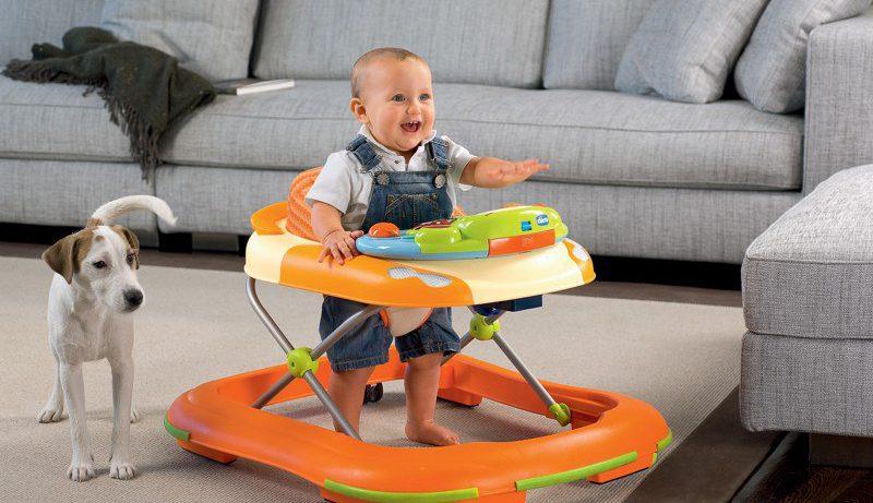 Вредны ли ходунки для детей, как кажется?
