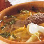 Горячий суп от  instacook.me - рассольник с капустой (экспериментальный)