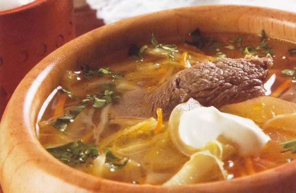 Горячий суп от  instacook.me — рассольник с капустой (экспериментальный)