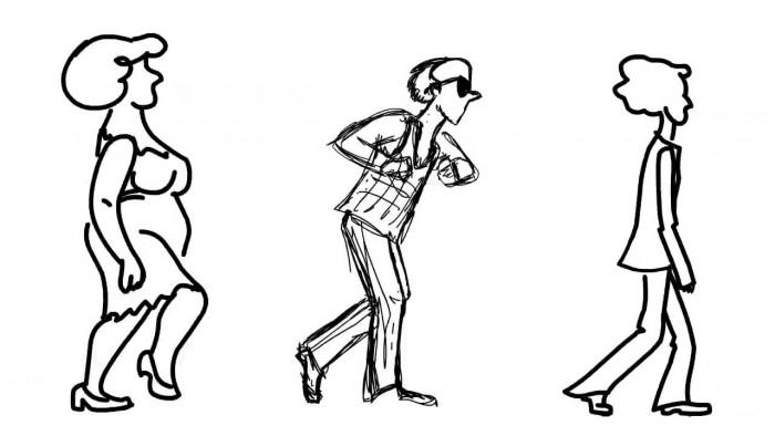 Психология походки